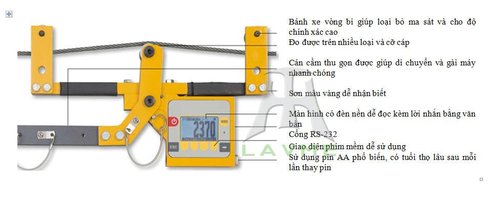 Khái niệm, chức năng vận hành của máy đo lực căng cáp Quick-Check Dillon