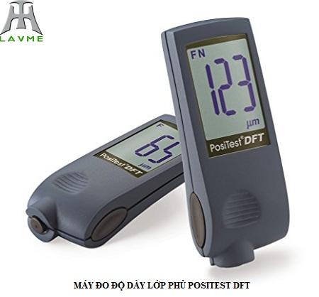 LAVME giới thiệu máy đo độ dày lớp mạ kẽm Positest DFT