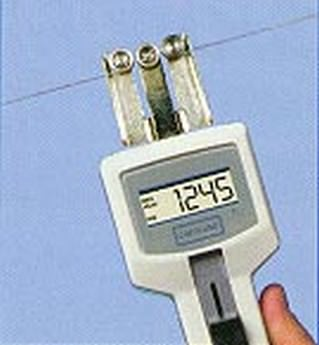 Máy đo lực căng băng dính, sợi thô