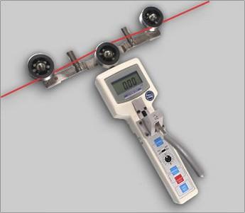 Thiết bị đo lực căng sợi cáp quang