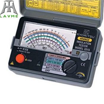 Đồng hồ đo điện trở cách điện Model: 3146A
