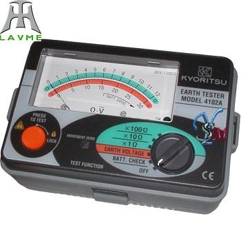 Đồng hồ đo điện trở đất Model: 4102A