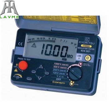 Đồng hồ kiểm tra độ cách điện và tính liên tục model 3021