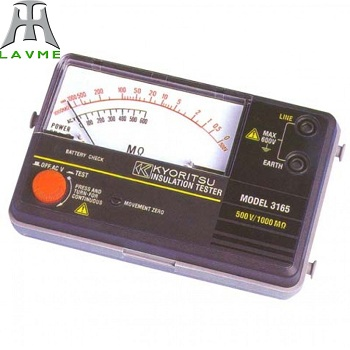 Đồng hồ đo điện trở cách điện Model: 3165