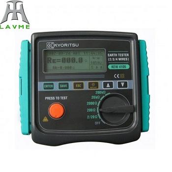 Đồng hồ đo điện trở đất Model: 4106