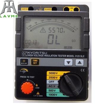 Đồng hồ kiểm tra cách điện cao thế Model: 3125