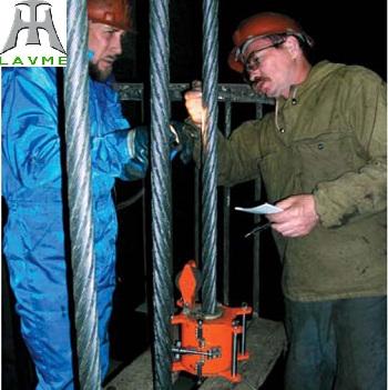 Thiết bị kiểm tra cáp thép và đường ống